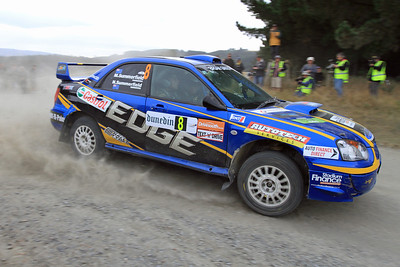 Matt Summerfield, Subaru Impreza, SS15 Kuri Bush.