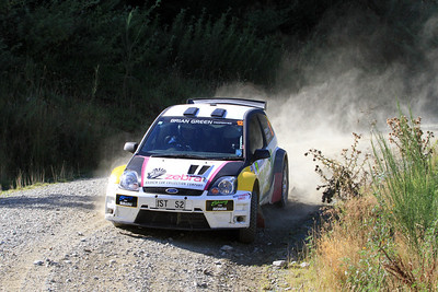 Dave Strong, Ford Fiesta S2000, SS6 Razorback Road.