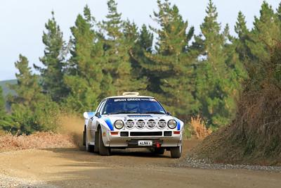 Marcus van Klink, Mazda RX7, SS2 Gooseneck.