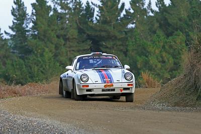 Jeff David, Porsche 911, SS2 Gooseneck.
