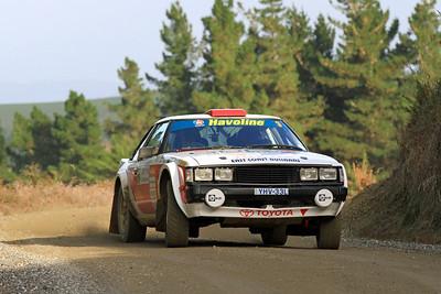 Neal Bates, Toyota Celica RA40, SS2 Gooseneck.