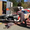 Neal Bates, Toyota Celica RA40, Service Lake Waihola.