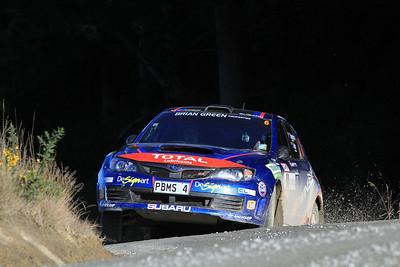 Ben Hunt, Subaru Impreza WRX, SS9 Kuri Bush.