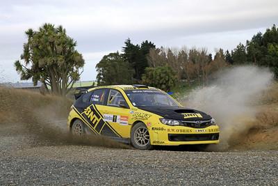 Richard Mason, Subaru Impreza WRZ STI, SS4 Cairn Road.