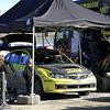 Richard Mason, Subaru Impreza WRX STI, Service, Day 2, Lake Waihola.