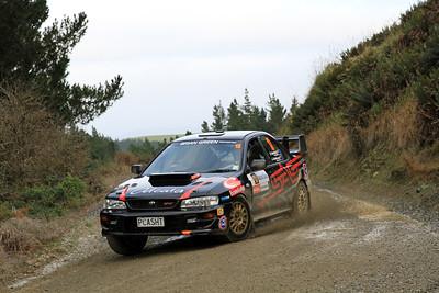 Richard Baddock, Subaru Impreza WRX, SS2 Gooseneck.