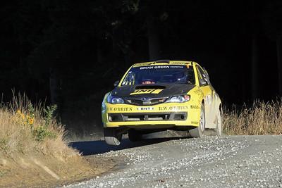 Richard Mason, Subaru Impreza WRZ STI, SS9 Kuri Bush.
