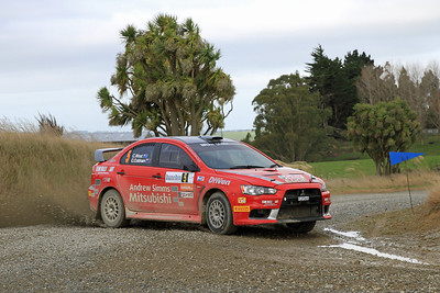 Chris West, Mitsubishi Lancer Evo X, SS4 Cairn Road.