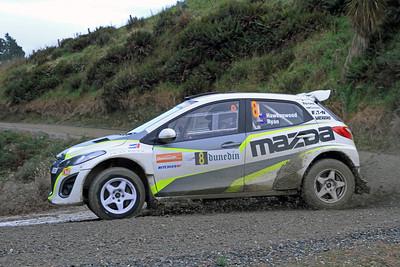 Andrew Hawkeswood, Mazda 2, SS2 Gooseneck.