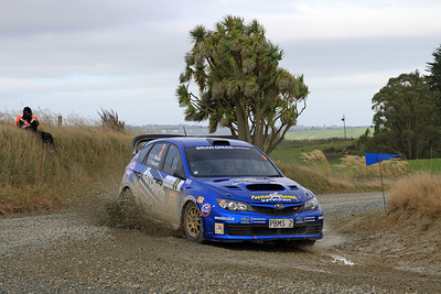 Lance Williams, Subaru Impreza WRX R4, SS4 Cairn Road.