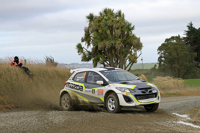 Andrew Hawkeswood, Mazda 2, SS4 Cairn Road.