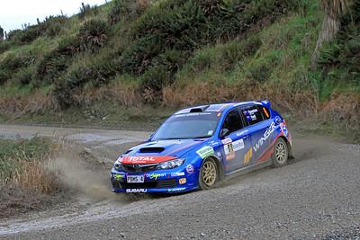 Ben Hunt, Subaru Impreza WRX, SS2 Gooseneck.