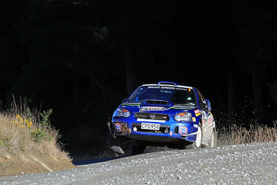 Matt Summerfield, Subaru Impreza, SS9 Kuri Bush.