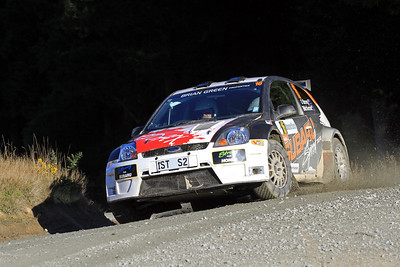 Dave Strong, Ford Fiesta S2000, SS9 Kuri Bush.