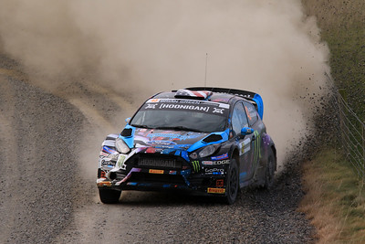 Ken Block, Ford Fiesta, SS14 Table Hill.