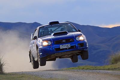 Daniel Walker, Subaru Impreza, SS3 Shag Valley.