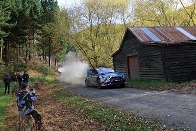 Ken Block, Ford Fiesta, SS13 Berwick.