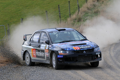 Dylan Turner, Mitsubishi Lancer EVO 9, SS14 Table Hill.
