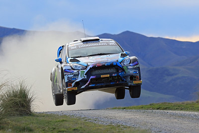 Ken Block, Ford Fiesta, SS3 Shag Valley.