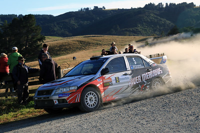 Graham Featherstone, Mitsubishi Lancer Evo 7, Ss11 Big Stone Road.