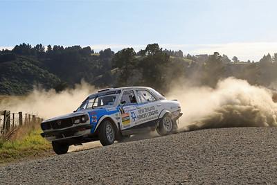Andy Martin, Mazda RX3, SS11 Big Stone Road.