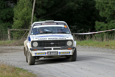 Deane Buist, Ford Escort RS1800, SS5 Homewood.