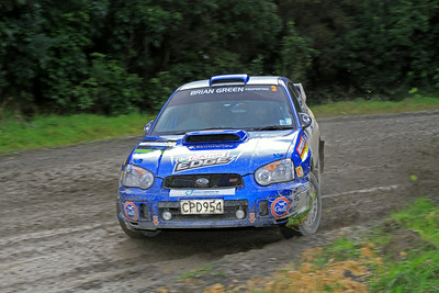 Matt Summerfield, Subaru WRX, SS5 Homewood.