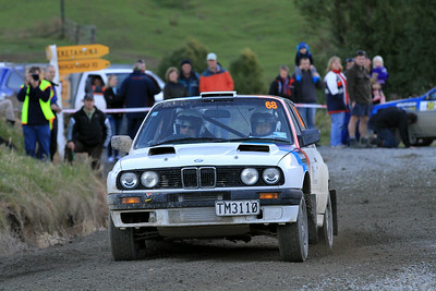 Chris Clarke, BMW N_Power, SS7 Mangaoranga.
