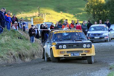 Tony Aimers, Fiat Abarth 131, SS7 Mangaoranga.
