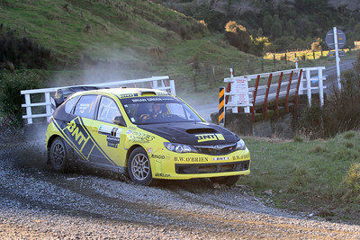 Richard Mason, Subaru Impreza WRX STi, SS7 Mangaoranga.