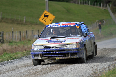 Marty Smith. Subaru Legacy, SS5 Homewood.