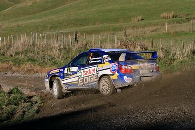 Matt Summerfield, Subaru WRX, SS7 Mangaoranga.