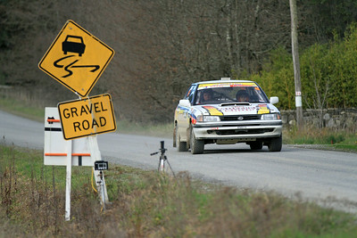 Alan Smith, Subaru Legacy RS, SS5 Homewood.