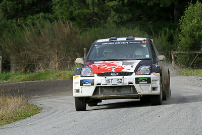 Dave Strong, Ford Fiesta S2000, SS5 Homewood.