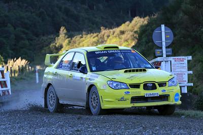 David Thexton, Subaru WRX, SS7 Mangaoranga.
