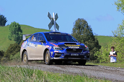 Ben Hunt, Subaru Impreza WRX STi, SS4.