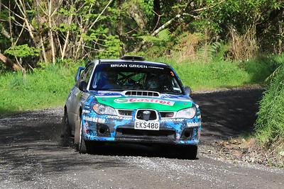 Matt Summerfield, Subaru Impreza, SS2