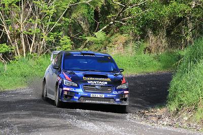 Ben Hunt, Subaru WRX STi, SS2.