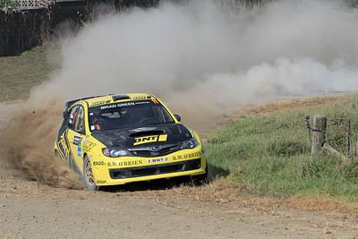 Richard Mason, Subaru Impreza WRX STi, SS4 Otakairangi.