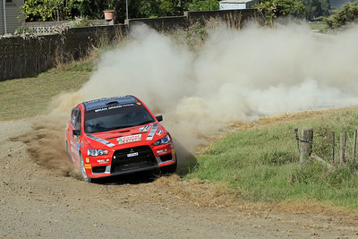 Chris West, Mitsbishi Lancer Evo 10, SS4 Otakairangi.