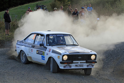 Gary Smith, Ford Escort RS1800, SS6 Ruapekapeka.