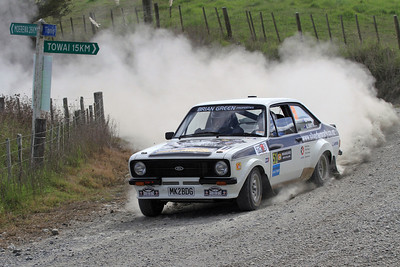 Gary Smith, Ford Escort RS1800, SS2 Pipiwai.