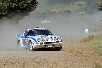 Marcu van Klink, Mazda RX7, SS4 Otakairangi.