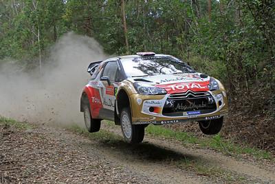 Kris Meeke, Citroen DS3 WRC, SS5 Newry.