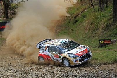 Mikko Hirvonen, Citroen DS3 WRC, SS19 Shipmans.