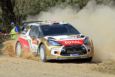Kris Meeke, Citroen DS3 WRC, SS11 Nambucca.