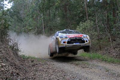 Mikko Hirvonen, Citroen DS3 WRC, SS8 Newry.