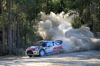 Kris Meeke, Citroen DS3 WRC, Shakedown.