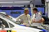 Andreas Mikkelsen, Volkswagen Polo R WRC, Service Park (Wednesday).
