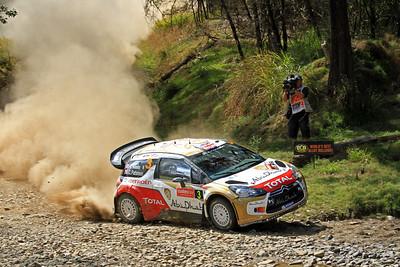 Kris Meeke, Citroen DS3 WRC, SS19 Shipmans.